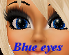 (E) Blue Star eyes