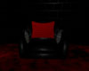 BLACK & RED CHAIR