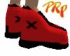 Red w/Black Trim kicks