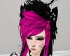 Black/Pink Hair