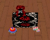 Red Rose Toy Chest
