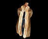 fur coat ice brown