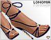 Blue Laced Heels