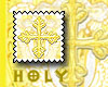 Golden Cross Stamp