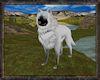 ⚡ Arctic White Wolf