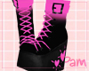 p. fashion neko boots