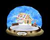 GingerBread House Globe