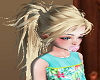 Thick Blond Ponytail