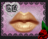 Gold Lip Gloss Mesh