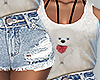 Cute teddy bear outfit