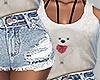 Cute teddy bear outfit