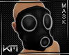 +KM+ Gas Mask Blk