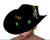Irish Biker Cowboy Hat M