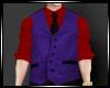 !!Purple Vest Suit