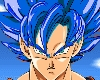 Blue SSJ Goku Hair