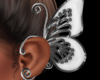Butterfly Ear Clips