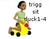 Animated duck