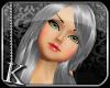 [K] Silver Lindsay Hair