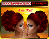 "IP Hairstyle ""Gala"" red"