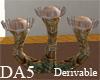 (A) Sea Anemone Chair