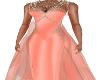 Evette Peach Gown