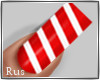 Rus: Candy Cane nails