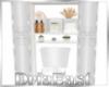 D: Shelf + Toilet