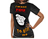 I want YOU Gift Shirt F