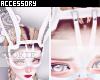 WhiteLacedBunny Mask
