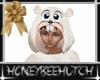 Hamster Costume White