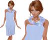 TF* Blue Scarf & Dress