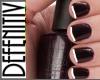 [DeF] Nails Black