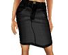 TF* Black Jean Skirt