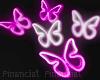 Glow Butterflies Neon