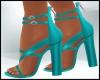 Spring Aqua Blue Sandal