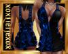 [L] Skull Blue Dress F