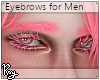 Flamingo Pink Eyebrows