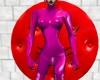 [SM] Pink Cinch Catsuit