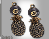 """SAV"" CLAUDY EARRINGS"