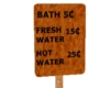 Eph Old West Bath Sign