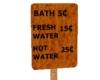 Eph Old West Bath Sign