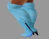 [BRI] Blue Suede Boot