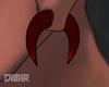 Horn Plug Red