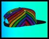 (R)Rainbow Striped  Snap