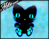 [Hot] Black/Blue Kitten