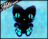 [Hot] Black/Blue Kitten