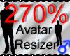 *M* Avatar Scaler 270%