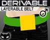  SIN  Derivable Belt