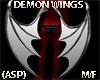 (ASP)DEMON WINGS M/F