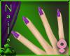 Lush Nails-Purple Swirl